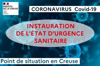 Covid-19 - La situation en Creuse