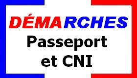 Démarches passeport & CNI